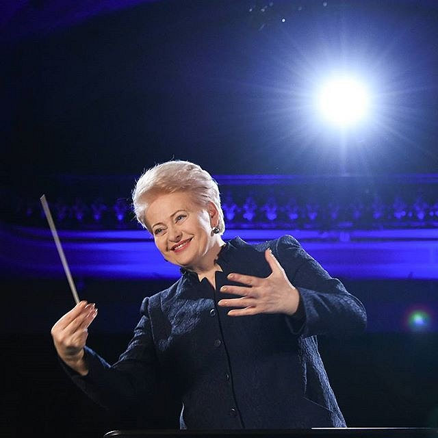 Prezident #DaliaGrybauskaitė #dirigentas #filharmonija