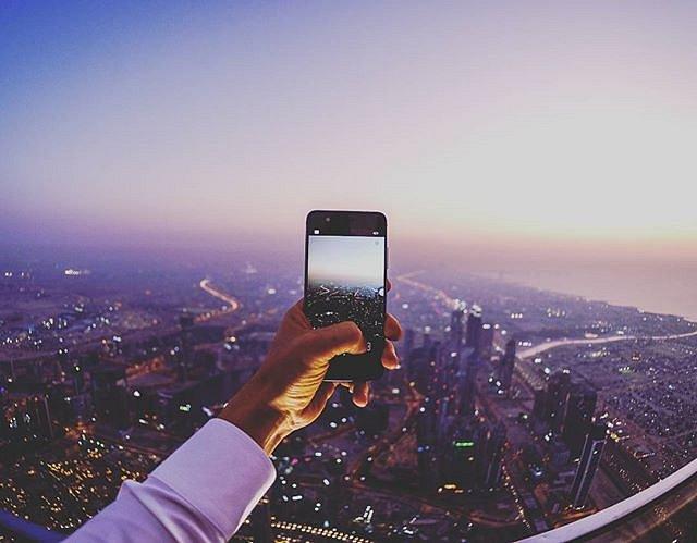 #huaweip10 #panorama #burjkhalifa #leicaphotography