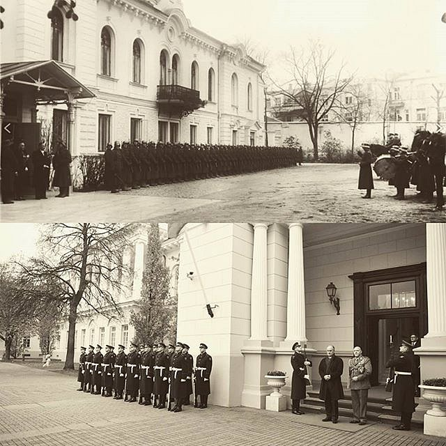 #History repeats after 82 years. Presentation of credentials on 9th of November:  1935 Italian envoy to Lithuania  #Francesco #Fransoni in #Kaunas and 2017 his namesake grandson Italian #ambassador in Vilnius.