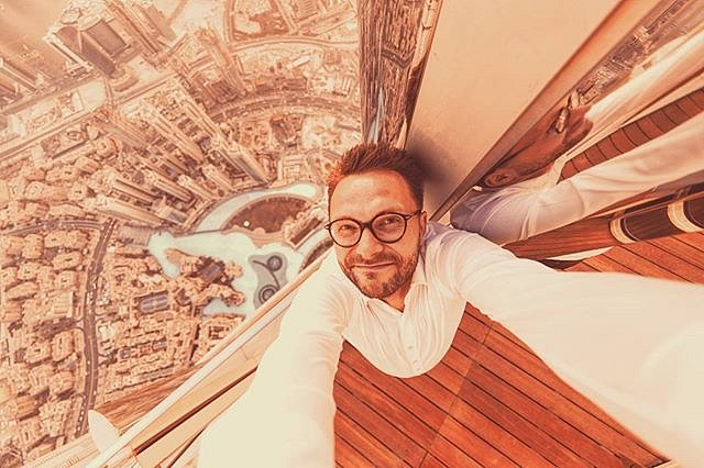 #Selfie from the very top.