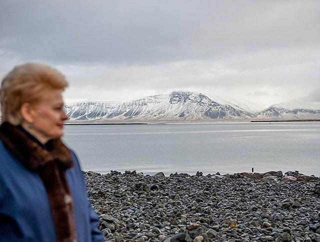 #Reyjkavik view. #Mountain #DaliaGrybauskaitė