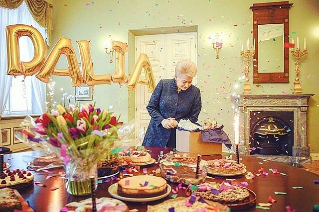 #Gimtadienis #DaliaGrybauskaitė