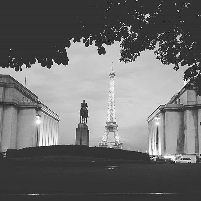 #BlackandWhite #Paris