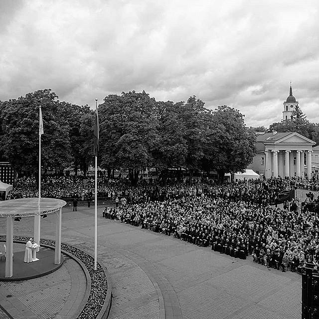 #TheSpeech #pope #Vilnius