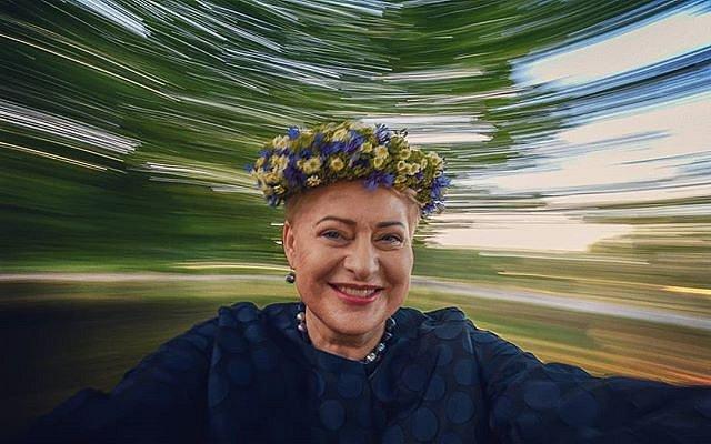 #Joninės2018 #DaliaGrybauskaitė #rasos