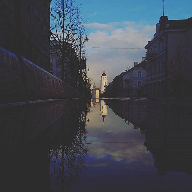 #VilniusOldTown #magicspring #katedrosvarpinė