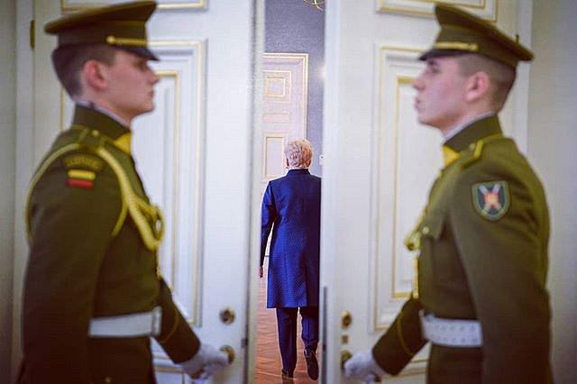 #DaliaGrybauskaitė #garbėssargyboskuopa